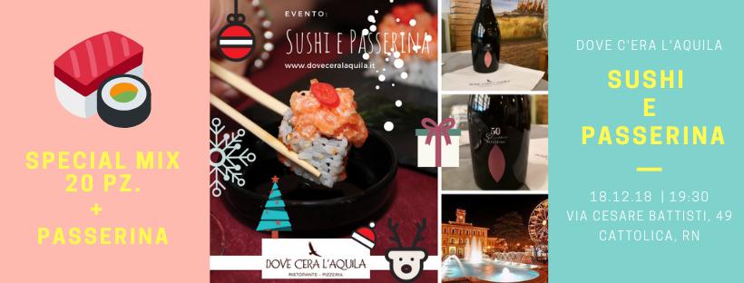 Sushi e Passerina, godendo l'atmosfera magica di Cattolica: la Regina di Ghiaccio